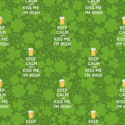 Kiss Me I'm Irish Wrapping Paper (Personalized)
