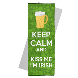Kiss Me I'm Irish Yoga Mat Towel (Personalized)