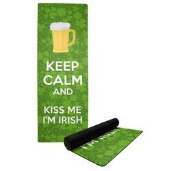 Kiss Me I'm Irish Yoga Mat (Personalized)