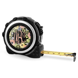 Boho Floral  Tape Measure - 16 Ft (Personalized)