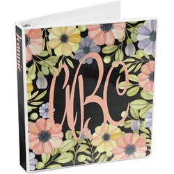 Boho Floral 3-Ring Binder (Personalized)