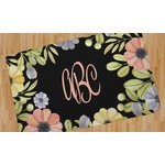 Boho Floral Area Rug (Personalized)
