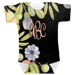 Boho Floral Baby Bodysuit (Personalized)