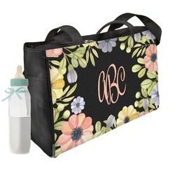 Boho Floral Diaper Bag (Personalized)