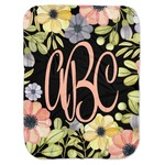 Boho Floral Baby Swaddling Blanket (Personalized)