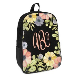 Boho Floral  Kids Backpack (Personalized)