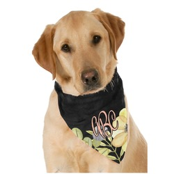 Boho Floral  Pet Bandanas (Personalized)
