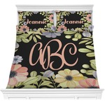Boho Floral Comforters (Personalized)