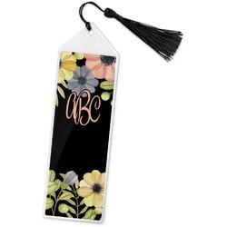 Boho Floral Book Mark w/Tassel (Personalized)