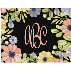Boho Floral  Placemat (Fabric) (Personalized)