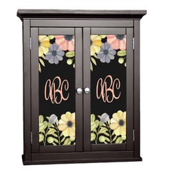 Boho Floral Cabinet Decal - XLarge (Personalized)