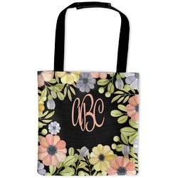 Boho Floral Auto Back Seat Organizer Bag (Personalized)