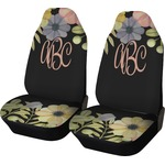 Boho Floral Car Seat Covers (Set of Two) (Personalized)