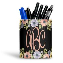 Boho Floral Ceramic Pen Holder