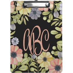 Boho Floral Clipboard (Personalized)