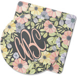 Boho Floral Rubber Backed Coaster (Personalized)