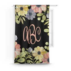 Boho Floral Curtain (Personalized)