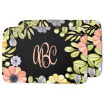 Boho Floral Dish Drying Mat (Personalized)