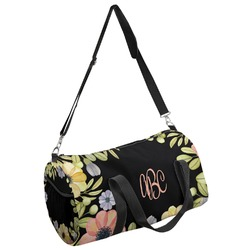 Boho Floral Duffel Bag (Personalized)