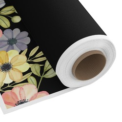 Boho Floral Custom Fabric - Spun Polyester Poplin (Personalized)