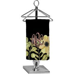 Boho Floral Finger Tip Towel - Full Print (Personalized)