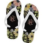 Boho Floral Flip Flops (Personalized)