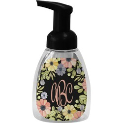 Boho Floral Foam Soap Dispenser (Personalized)