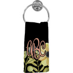 Boho Floral Hand Towel - Full Print (Personalized)