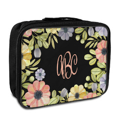 Boho Floral Insulated Lunch Bag (Personalized)