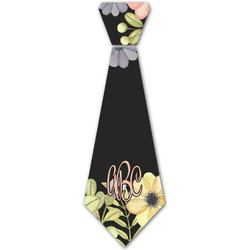 Boho Floral Iron On Tie (Personalized)