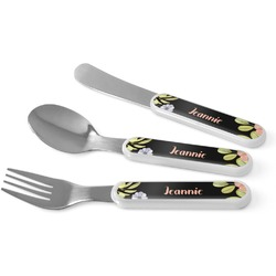 Boho Floral Kid's Cutlery (Personalized)
