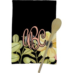 Boho Floral Kitchen Towel - Full Print (Personalized)