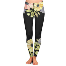 Boho Floral Ladies Leggings (Personalized)