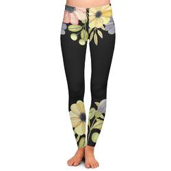 Boho Floral Ladies Leggings (Personalized)