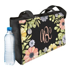 Boho Floral  Ladies Workout Bag (Personalized)