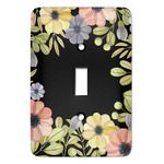 Boho Floral Light Switch Covers (Personalized)
