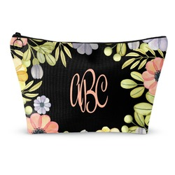 Boho Floral  Makeup Bags (Personalized)