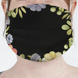 Boho Floral Face Mask Cover (Personalized)