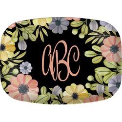 Boho Floral  Melamine Platter (Personalized)