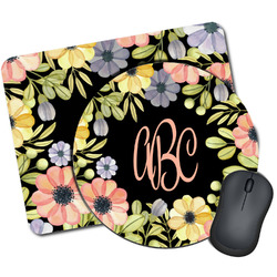 Boho Floral Mouse Pads (Personalized)