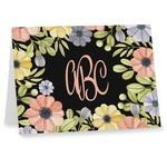 Boho Floral Note cards (Personalized)