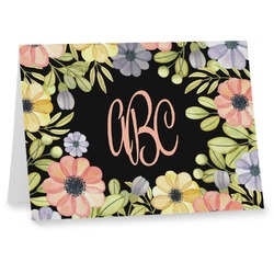 Boho Floral Notecards (Personalized)