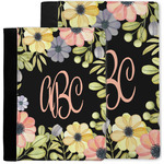 Boho Floral Notebook Padfolio w/ Monogram