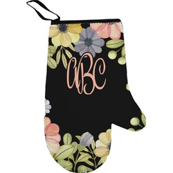 Boho Floral Oven Mitt (Personalized)