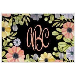 Boho Floral  Placemat (Laminated) (Personalized)