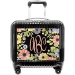 Boho Floral Pilot / Flight Suitcase (Personalized)