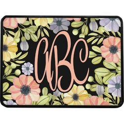 Boho Floral Rectangular Trailer Hitch Cover (Personalized)