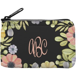 Boho Floral  Rectangular Coin Purse (Personalized)
