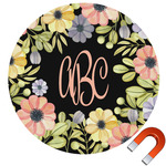 Boho Floral Car Magnet (Personalized)