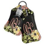 Boho Floral Hand Sanitizer & Keychain Holder (Personalized)
